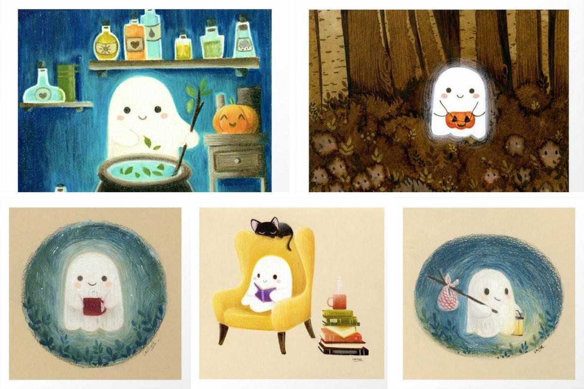 Halloween-Ilustrações-Society6-Laure-Sillus-AtMums