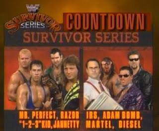 WWF / WWE Survivor Series 1993: Team Razor vs. Team Diesel