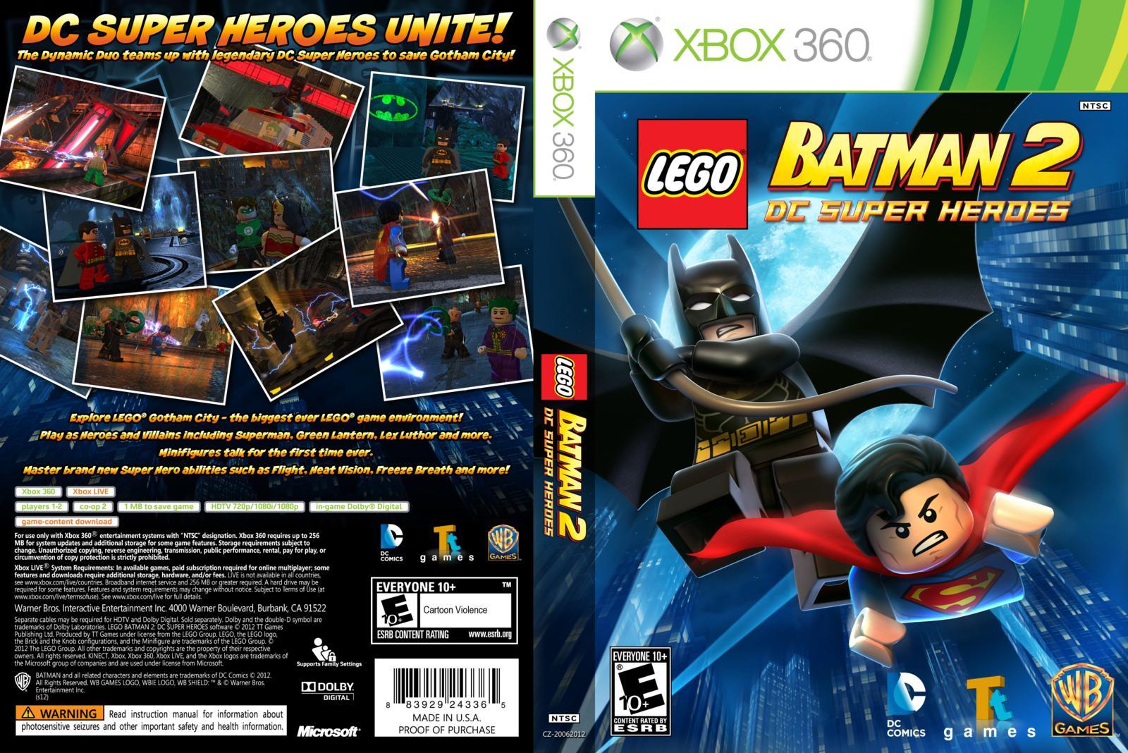 LEGO BATMAN 2 DC SUPER HEROES - xboxbrasil360