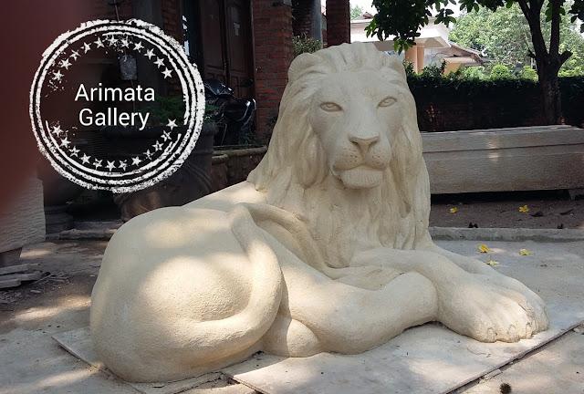 gambar untuk patung singa