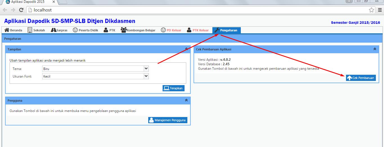 Patch Dapodik 403 Untuk Memperpanjang Masa Aktif Portal Info Guru Dan Pendidikan Indonesia