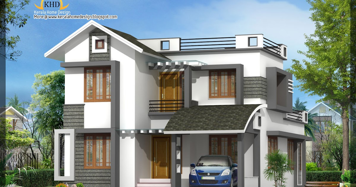 Beautiful Villa Elevation 1602 Sq Ft Home Appliance
