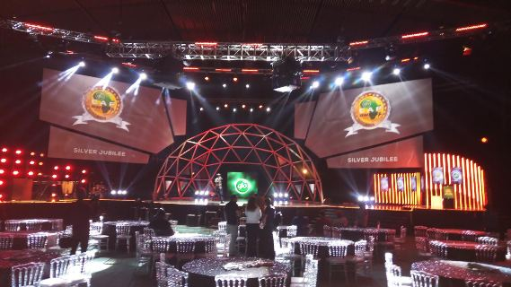 Check out the magnificent Glo Caf Awards set