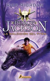 Percy Jackson y la maldición del titán 3