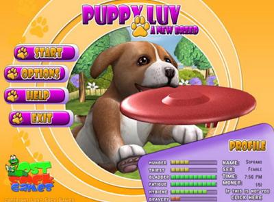 愛心寵物狗(Puppy LuvA New Breed),超可愛的3D寵物飼養!