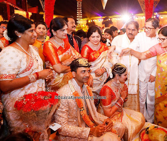 Rachana Chowdary Vishnu Teja Wedding