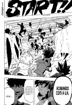 Mangá Boku No Hero Academia Capítulo 103