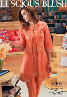 Gul Ahmed Winter Dresses Collection 2018