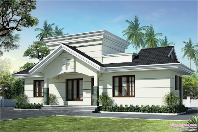 Lovely 2 Bedroom Low Budget Villa in 991 Square Feet with Free Plan