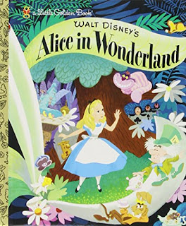 Book cover: Little Golden Books Alice in Wonderland