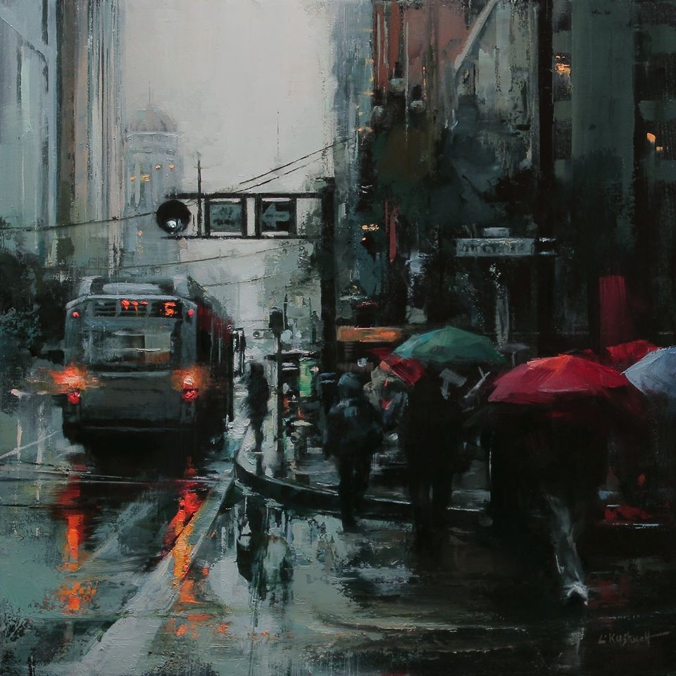 10-Lindsey-Kustusch-Urban-Goings-on-Captured-in-Oil-Paintings-www-designstack-co
