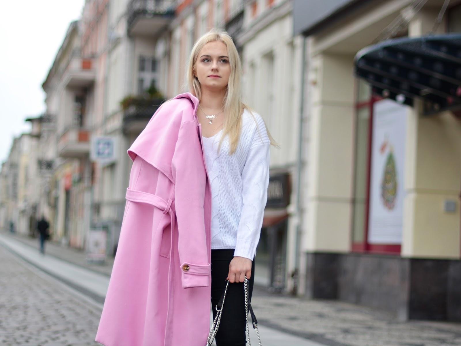 Liliowy płaszcz   hit na rok 2018