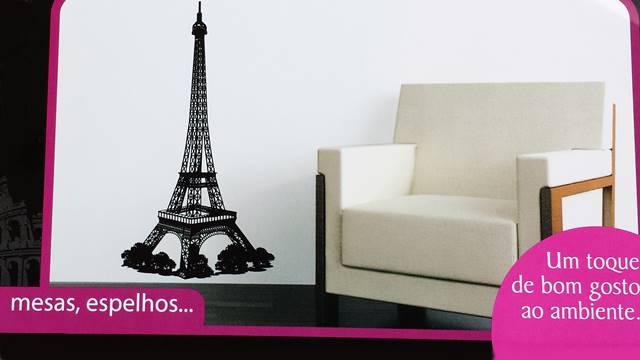 Adesivo Dello Torre Eiffel
