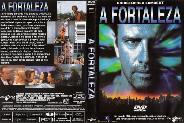 Capa DVD A Fortaleza