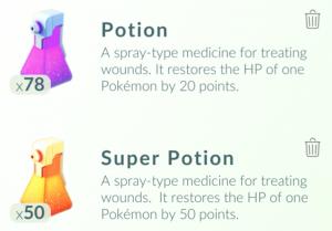 fungsi manfaat potions