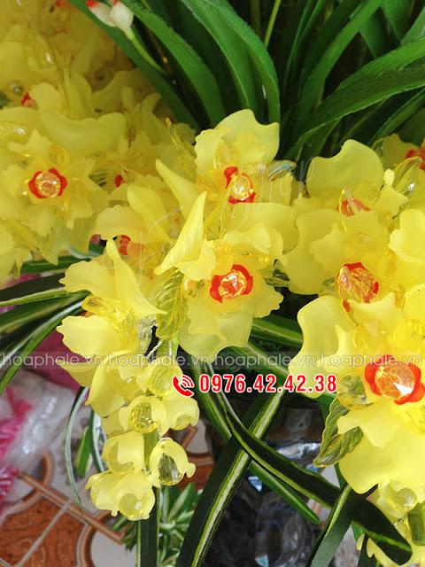 Hướng dẫn vào cành hoa pha lê | Hoaphale.vn