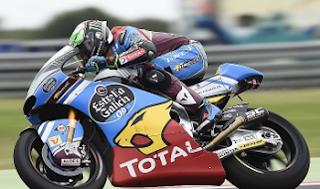 clasificacion moto2: primeros entrenos moto2 libres gp Valencia Ricardo Tormo 10-11-2017