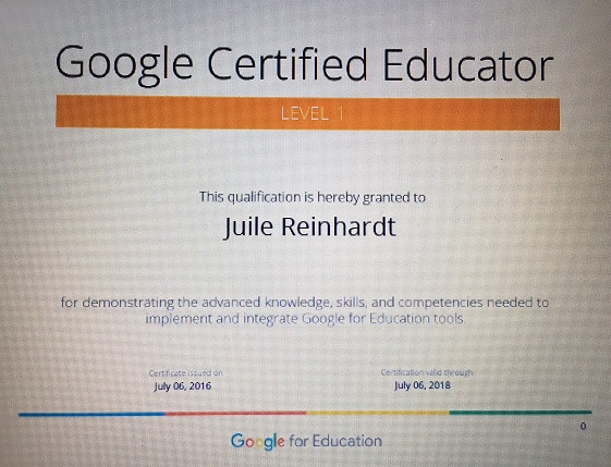 Teaching and Lovin\' It: Google Certification