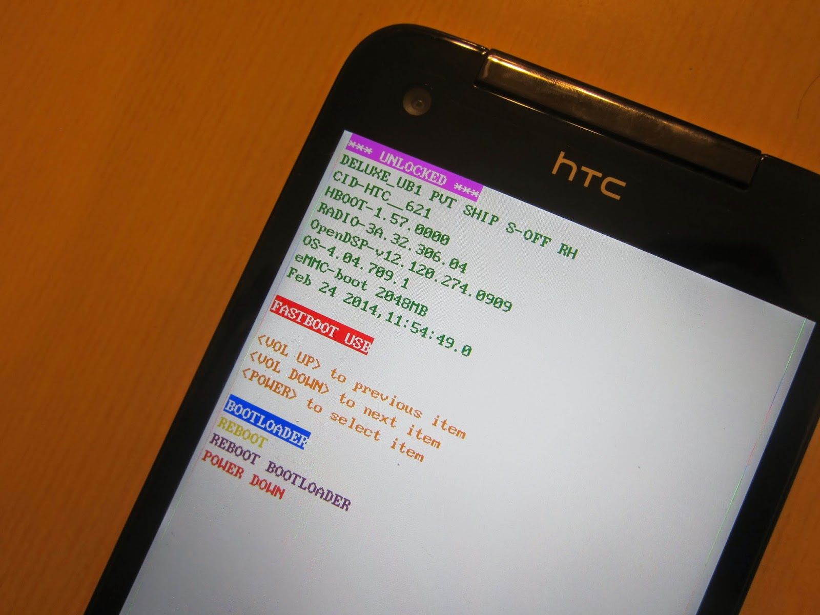 IMG 2325 - 【圖文教學】HTC Butterfly 4.3/4.4 解鎖+ROOT