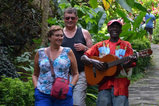 Anadale Falls Grenada singing