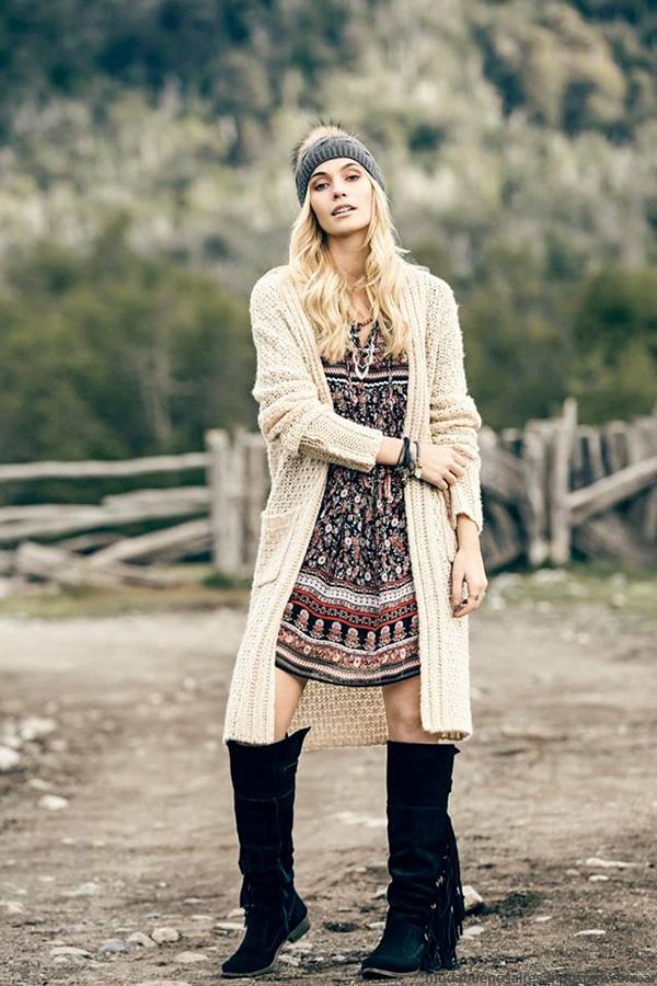Moda invierno 2016 moda mujer India Style.