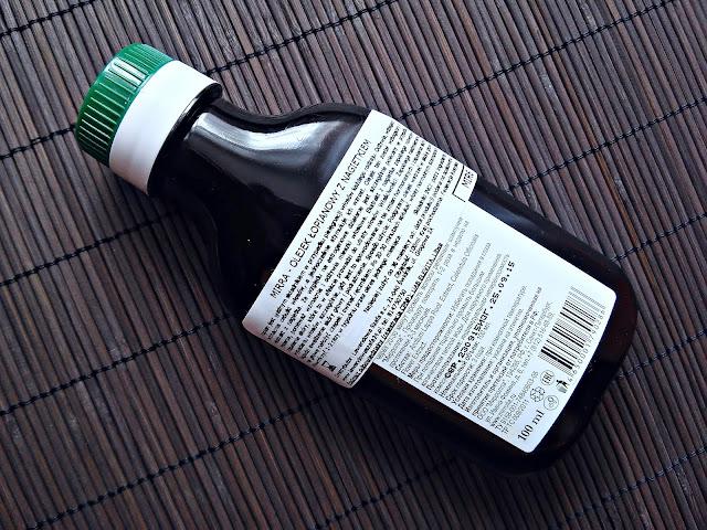 Mirolla - Olejek łopianowy z nagietkiem, opis opakowania