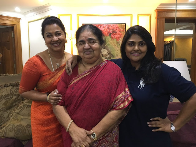 Raadhika Sharathkumar Family Photos | Nirosha