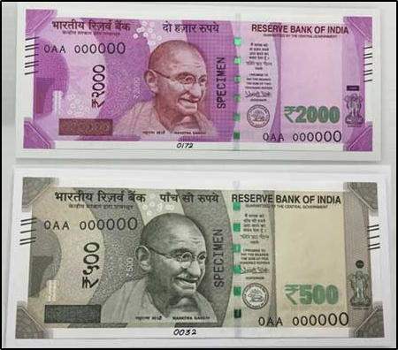 New 500 & 2000 Notes