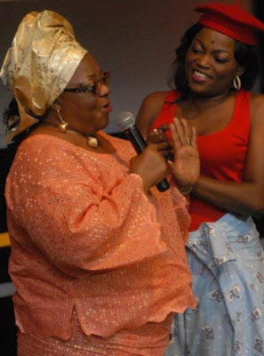funke akindele mom birthday