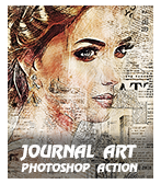 \ JourArt - Concept Mix Photoshop Action