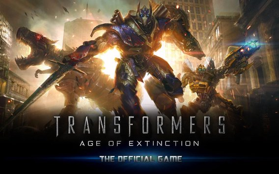 Download Game TRANSFORMERS AGE OF EXTINCTION APK