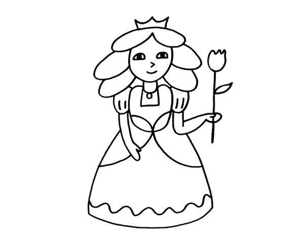 Educación Artística: Dibujos de princesas para colorear