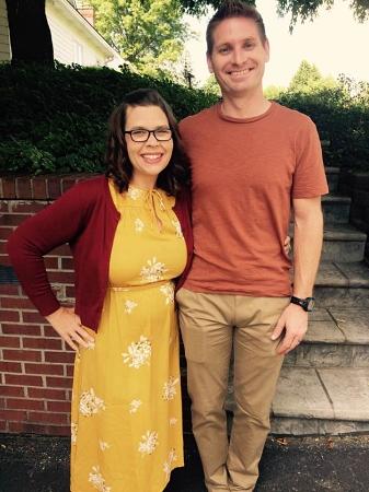 Sarah and her husband