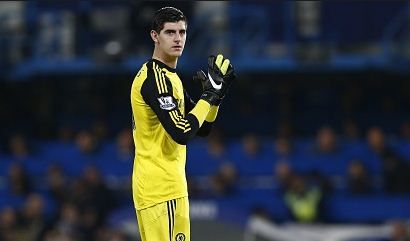 courtois chelsea jersey