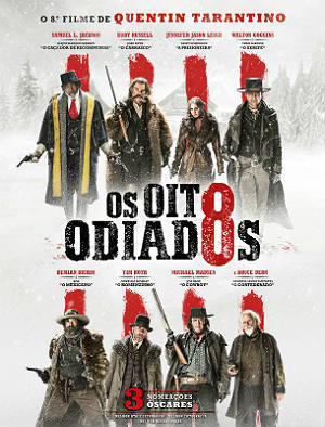 Baixar THE HATEFUL EIGHT Poster 70x100cm PO Os Oito Odiados DVDRip XviD Dual Audio & RMVB Dublado Download