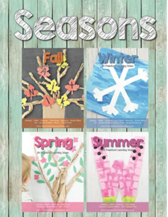 Four Seasons Preschool Theme