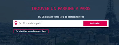 réserver parking paris