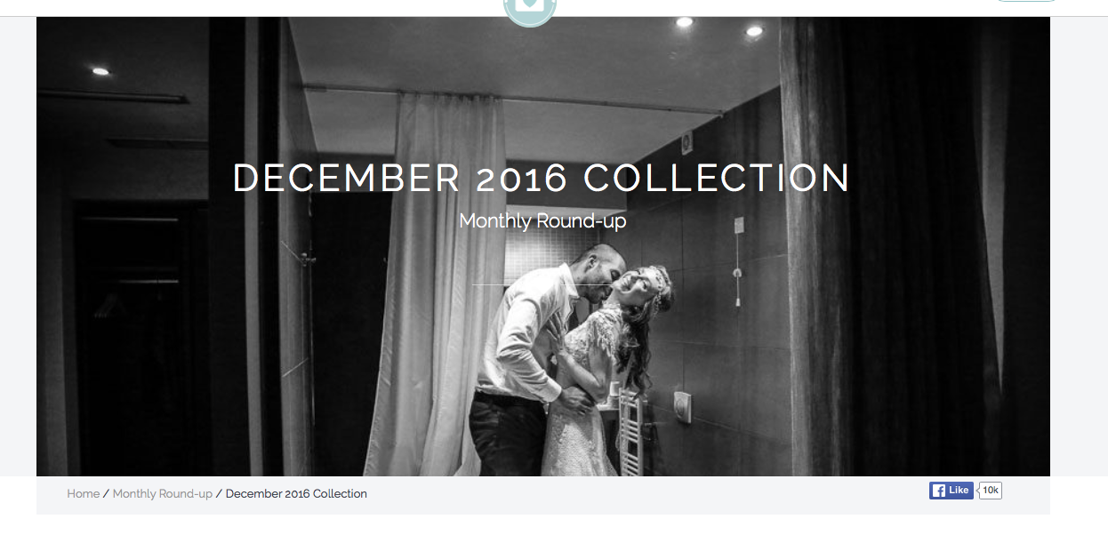 informing me for two more distinctions received last year one of my images is also the cover page for this british wedding association and their portal - Photography Cover Page