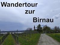 Wandern am Bodensee zur Birnau www.michaela-bodensee.de