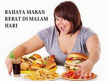 Efek Samping Makan Berat Pada Malam Hari