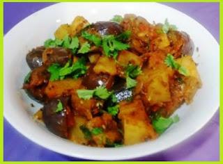 Easy Recipe for Brinjal in Hindi