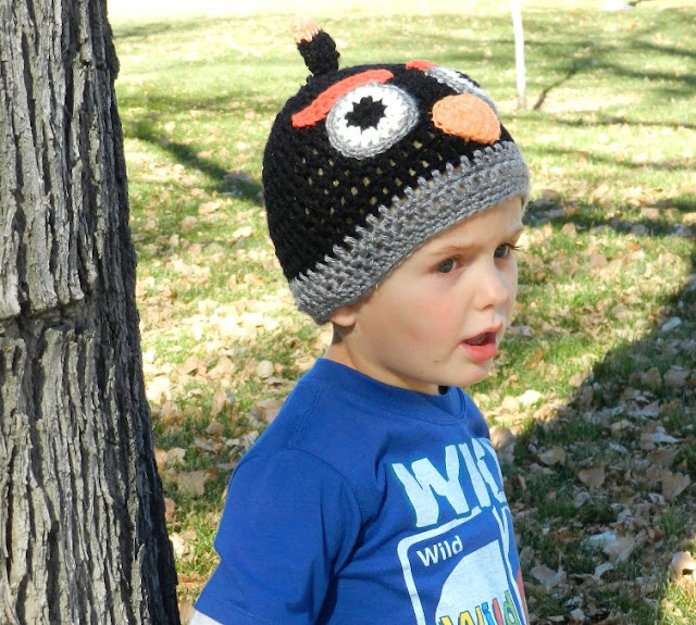 Kids Angry Birds Hat