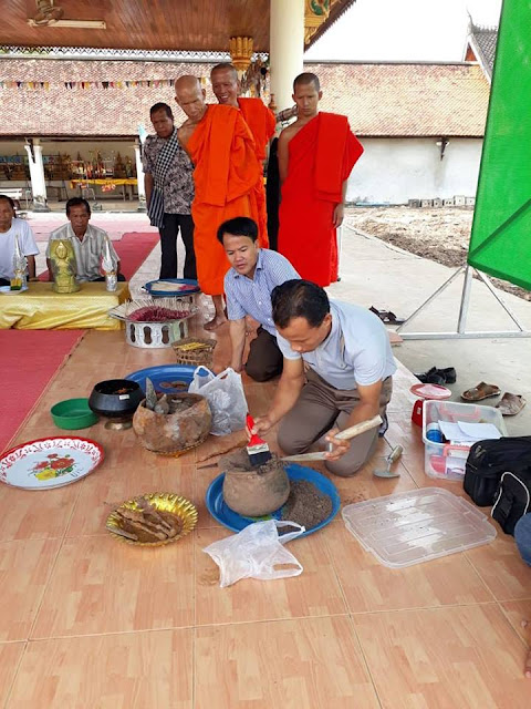 2,000 year-old Buddha images unearthed in Laos' Savannakhet province