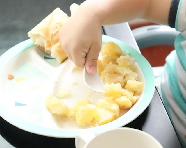 coffret vaisselle bambou babymoov