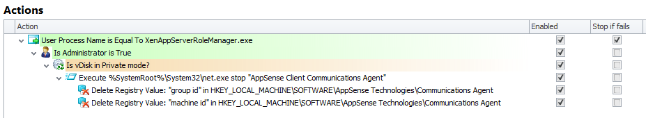 Using AppSense Environment Manager to automate the