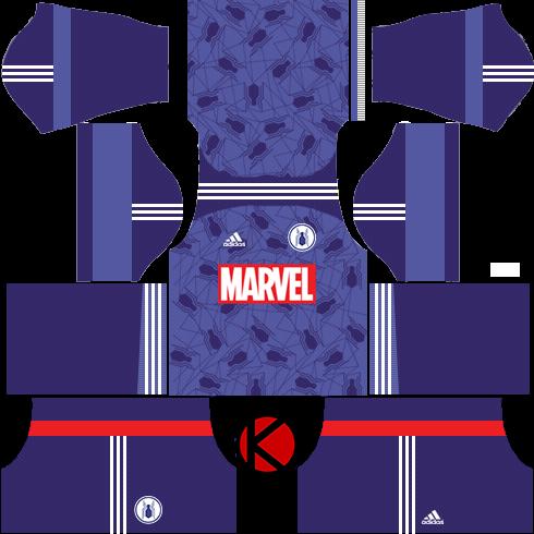 Adidas Marvel Iron Man, Hulk, Spider-Man 2018 Kits - Dream