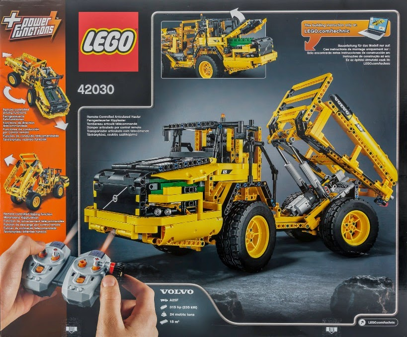 competition win lego technic volvo wheel loader the. Black Bedroom Furniture Sets. Home Design Ideas