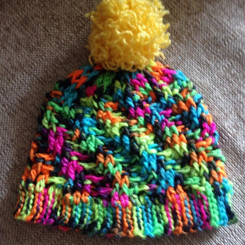 Stepping Texture Hat - Free Pattern