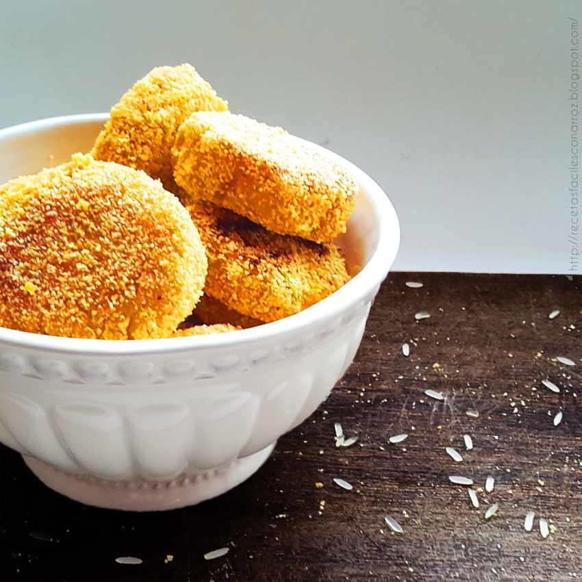 croquetas arroz y calabaza