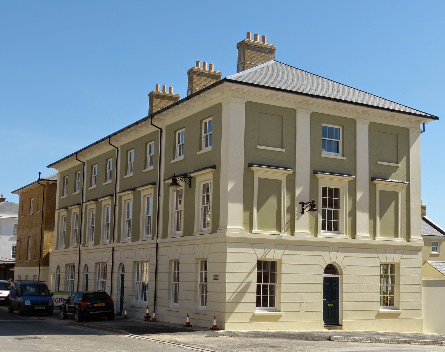 Regency History: Georgian architecture - a Regency History guide